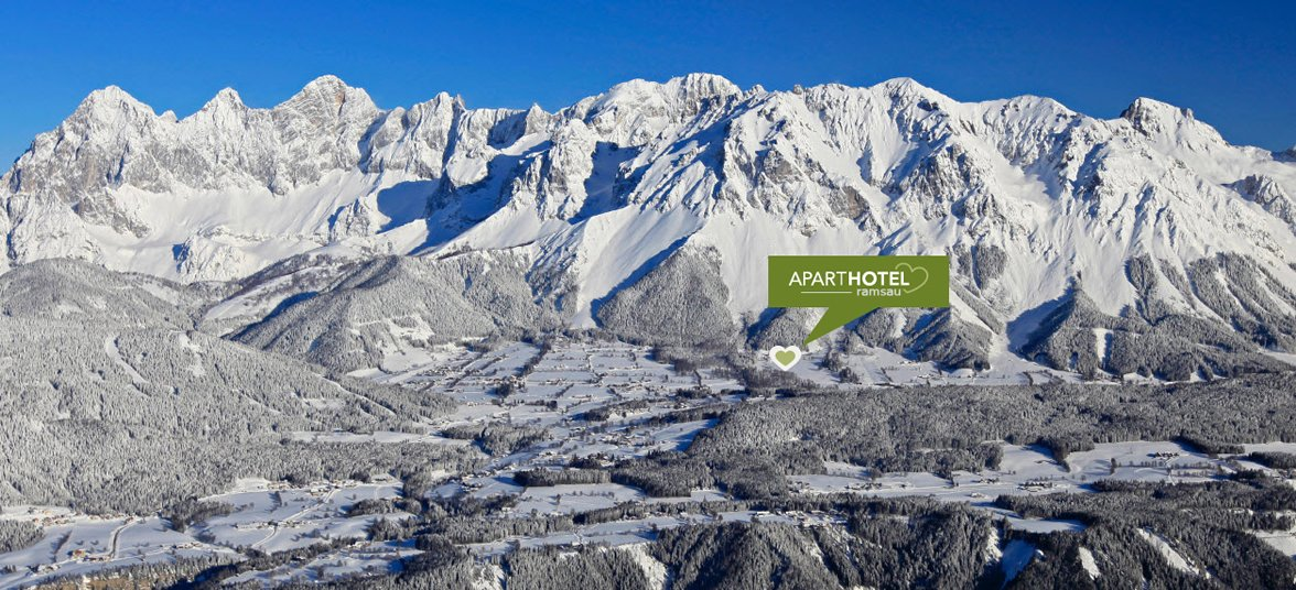 Aparthotel Ramsau, Top-Lage im Winter